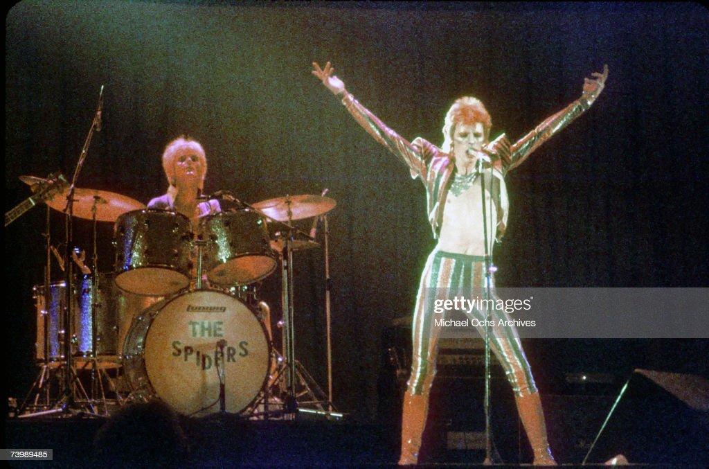 Ziggy Stardust Era Bowie In LA : News Photo