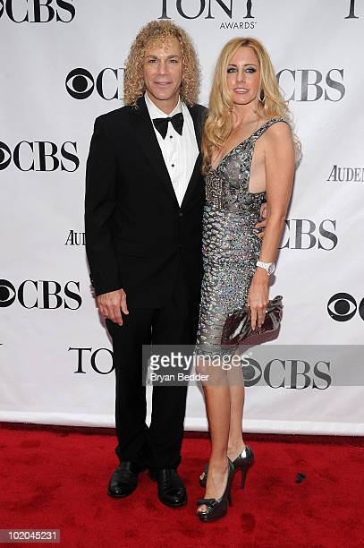 Musician David Bryan and Lexi Quaas attend the 64th Annual Tony Awards at Radio City Music Hall on June 13 2010 in New York City