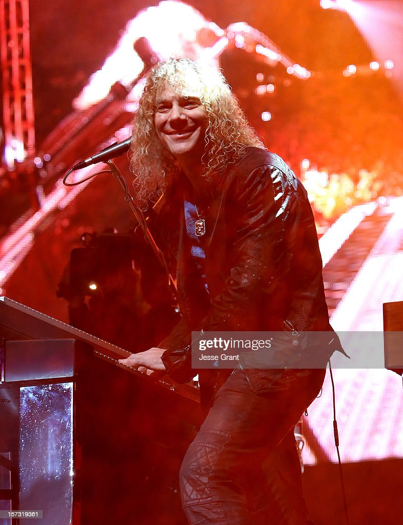 Musician David Bryan performs during the MasterCard Priceless Los Angeles Presents GRAMMY Artists Revealed Featuring Bon Jovi at Paramount Studios on December 1, 2012 in Hollywood, California.