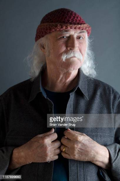 Musician David Crosby is photographed for Los Angeles Times on June 26 2019 in Santa Ynez California PUBLISHED IMAGE CREDIT MUST READ Brian van der...