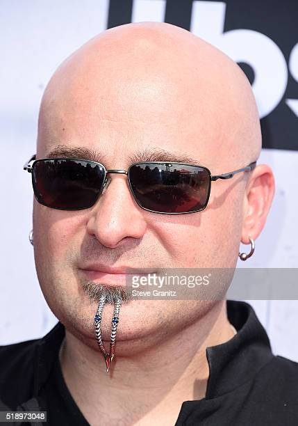 Musician David Draiman attends the iHeartRadio Music Awards at The Forum on April 3 2016 in Inglewood California