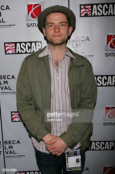 Musician David Ford poses at the Tribeca/ASCAP Music Lounge at the Canal Room May 5 2006 in New York City