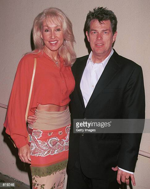 Musician David Foster and his wife songwriter Linda Thompson attend the Spago closing party hosted by celebrity chef Wolfgang Puck and his wife...