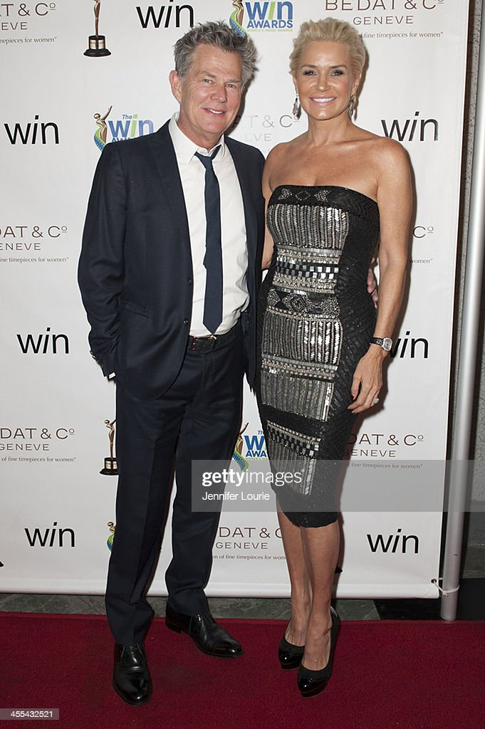 Musician David Foster and television personality Yolanda Foster arrives at the 2013 annual Women's Image Awards at Santa Monica Bay Woman's Club on December 11, 2013 in Santa Monica, California.
