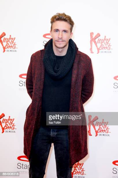 Musician David Friedrich attends the 'Kinky Boots' Musical Premiere at Stage Operettenhaus on December 3 2017 in Hamburg Germany