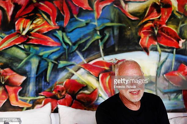 Musician David Gilmour attends the 'The Kindness' Book Presentation of his wife Polly Samsonon July 1 2016 in Rome Italy