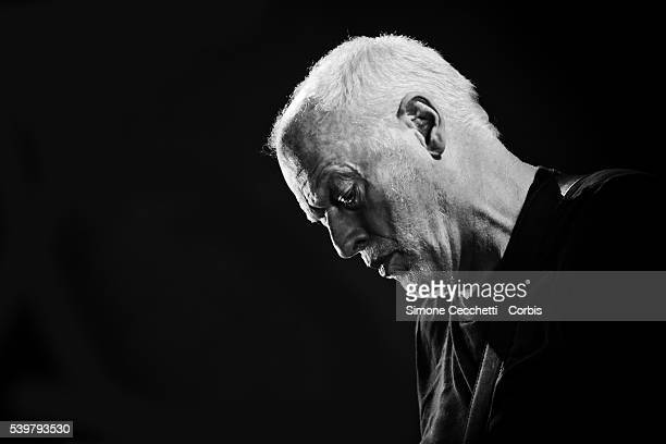 Musician David Gilmour is photographed for Self Assignment on September 15 2015 in Florence Italy