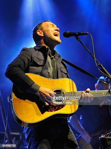 Musician David Gray performs at The Greek Theatre on September 3 2014 in Los Angeles California