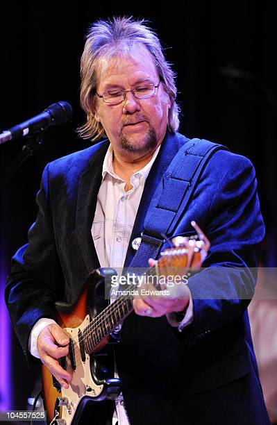 Musician David Pack of Ambrosia participates in An Evening With Alan Parsons at the GRAMMY Museum on September 29 2010 in Los Angeles California