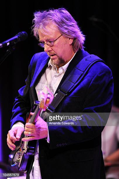 Musician David Pack of Ambrosia performs onstage during An Evening With Alan Parsons at the GRAMMY Museum on September 29 2010 in Los Angeles...