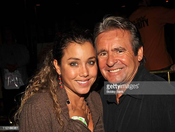 Musician Davy Jones and wife Jessica Pacheco attends the Chiller Theatre Expo at the Hilton Parsippany on October 31 2009 in Parsippany New Jersey