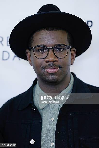 Musician De Mar Hamilton of the group Plain White T's attends the Pinoy Relief Benefit concert at Madison Square Garden on March 11, 2014 in New York...