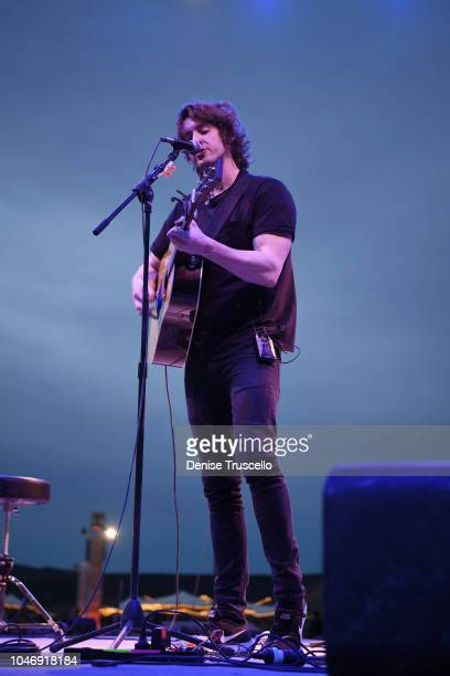 Musician Dean Lewis performs at RiSE Lantern Festival on October 6 2018 in Jean Nevada