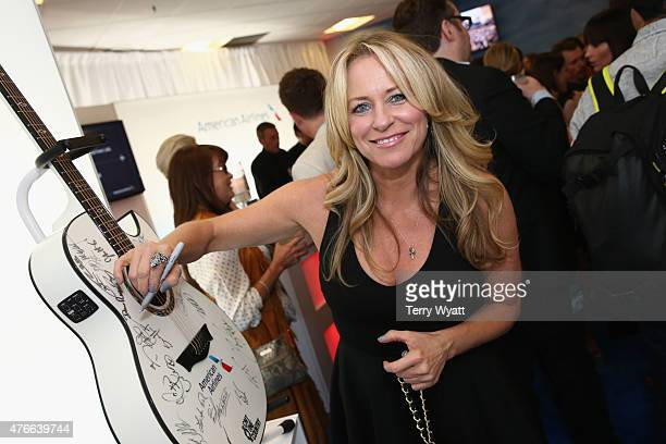 Musician Deana Carter attends the American Airlines Suite during 2015 CMT Music Awards at Bridgestone Arena on June 10 2015 in Nashville Tennessee