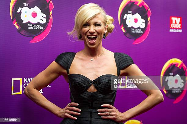 Musician Debbie Gibson attends Nat Geo's The 80's The Decade That Made Us New York premiere at Culture Club on April 9 2013 in New York City