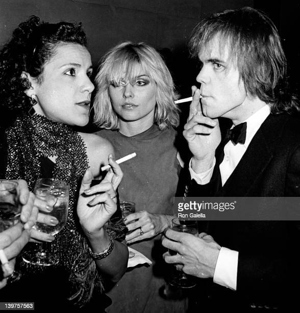 Musician Debbie Harry and guests attend Metropolitan Museum of Art Costume Exhibition 'Fashions of the Hapsburg Era' on December 3 1979 at the...