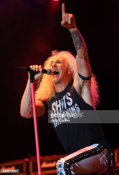 Musician Dee Snider of Twisted Sister peforms during Rocklahoma on May 24 2014 in Pryor Oklahoma