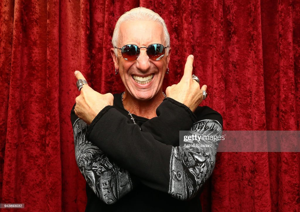 Musician Dee Snider visits the SiriusXM Studios on April 9, 2018 in New York City.