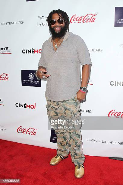 Musician Deezle arrives at the Accelerate4Change charity event presented by Dr Ben Talei Cinemoi on August 29 2015 in Beverly Hills California