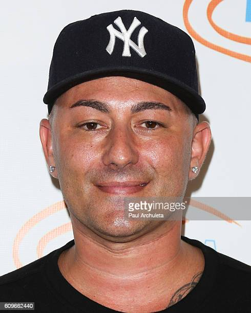 Musician Dennis DeSantis attends the 8th annual Get Lucky For Lupus LA celebrity poker tournament and party at Avalon on September 21 2016 in...