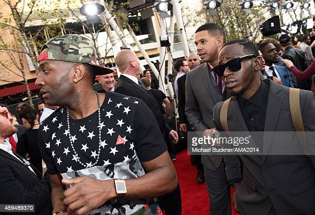 Musician DeStorm Power attends the 2014 American Music Awards at Nokia Theatre LA Live on November 23 2014 in Los Angeles California