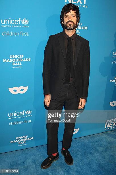Musician Devendra Banhart at the fourth annual UNICEF Next Generation Masquerade Ball on October 27 2016 in Los Angeles California