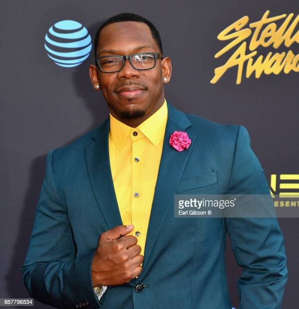 Musician Dexter Walker arrives at the 32nd annual Stellar Gospel Music Awards at the Orleans Arena on March 25 2017 in Las Vegas Nevada