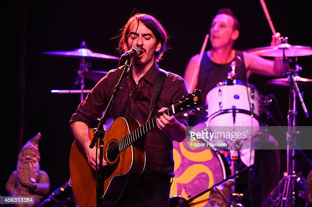 Musician Dhani Harrison, son of George Harrison performs at The Best Fest Presents GEORGE FEST An Evening To Celebrate The Music Of George Harrison...