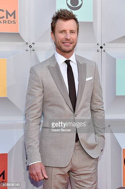 Musician Dierks Bentley attends the 51st Academy of Country Music Awards at MGM Grand Garden Arena on April 3 2016 in Las Vegas Nevada
