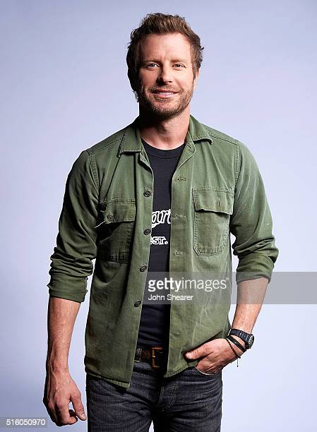 Musician Dierks Bentley poses at The Life Songs of Kris Kristofferson produced by Blackbird Presents at Bridgestone Arena on March 16 2016 in...