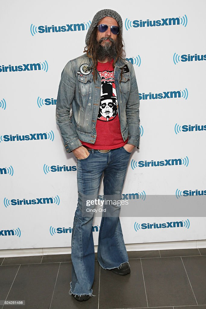 Musician/ director Rob Zombie visits the SiriusXM Studio on April 25, 2016 in New York City.