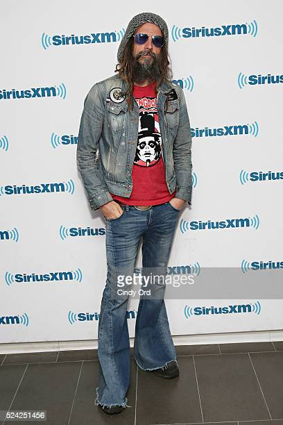 Musician/ director Rob Zombie visits the SiriusXM Studio on April 25 2016 in New York City