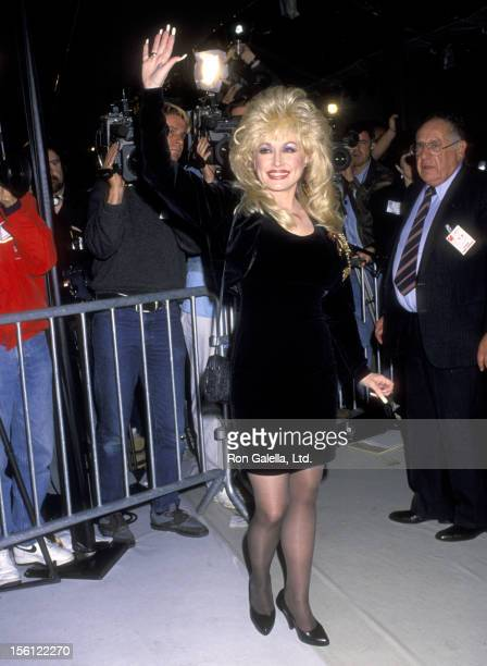 Musician Dolly Parton attends the Sixth Annual Commitment to Life Gala to Benefit AIDS Project Los Angeles on November 18 1992 at Universal...