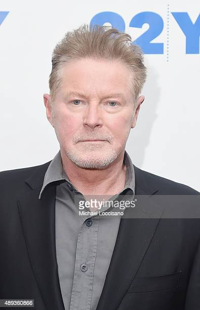 Musician Don Henley attends Don Henley in Conversation with Billy Joel at 92Y on September 20 2015 in New York City
