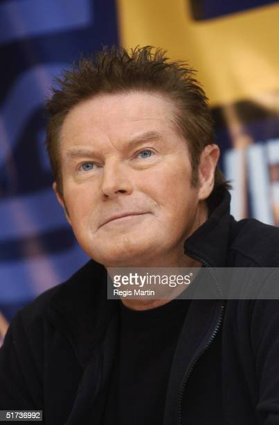 Musician Don Henley from the band Eagles at a press conference about the Eagles Farewell tour at the Park Hyatt Hotel November 13 2004 in Melbourne...
