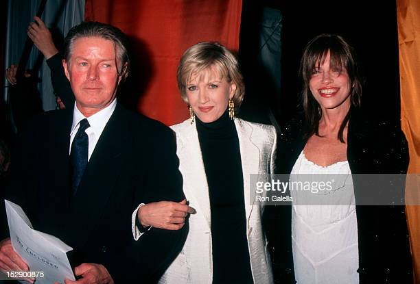Musician Don Henley of The Eagles journalist Diane Sawyer and singer Carly Simon attending Third Annual Great Party to Save the Nature Conservancy...