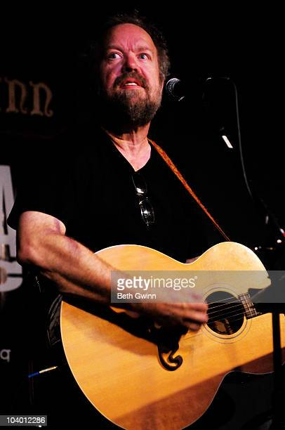 Musician Don Schlitz performs at The Station Inn during the Americana Music Showcase on September 9 2010 in Nashville Tennessee