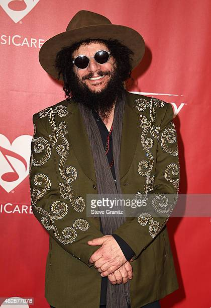 Musician Don Was attends the 25th anniversary MusiCares 2015 Person Of The Year Gala honoring Bob Dylan at the Los Angeles Convention Center on...