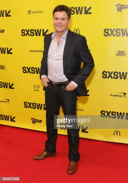 Musician Donny Osmond attends '15000yearold Marketing Strategy Why It Works' during 2017 SXSW Conference and Festivals at Austin Convention Center on...