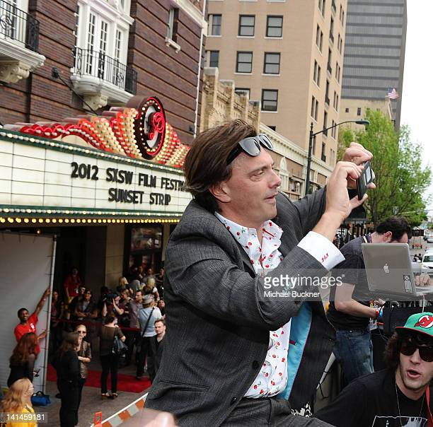 Musician Donovan Leitch arrives to the world premiere of Sunset Strip on the Canwenetworkcom Bus during the 2012 SXSW Music FIlm Interactive Festival...