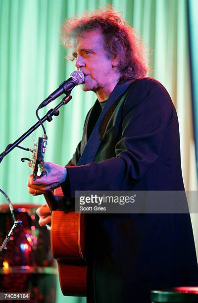 Musician Donovan performs onstage at the ASCAP Tribeca Music Lounge held at the Canal Room during the 2007 Tribeca Film Festival on May 2 2007 in New...