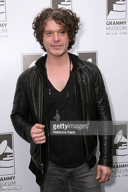 Musician Doyle Bramhall II attends An Evening With Doyle Bramhall II at The GRAMMY Museum on January 11 2017 in Los Angeles California