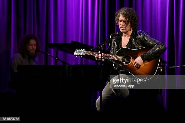 Musician Doyle Bramhall II performs at An Evening With Doyle Bramhall II at The GRAMMY Museum on January 11 2017 in Los Angeles California