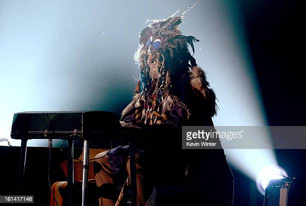 Musician Dr John performs onstage during the 55th Annual GRAMMY Awards at STAPLES Center on February 10 2013 in Los Angeles California