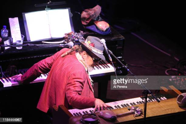 Musician Dr. John performs with The Lower 9-11 as part of Celebrate Brooklyn! at the Prospect Park Bandshell on July 30, 2011 in New York City. .