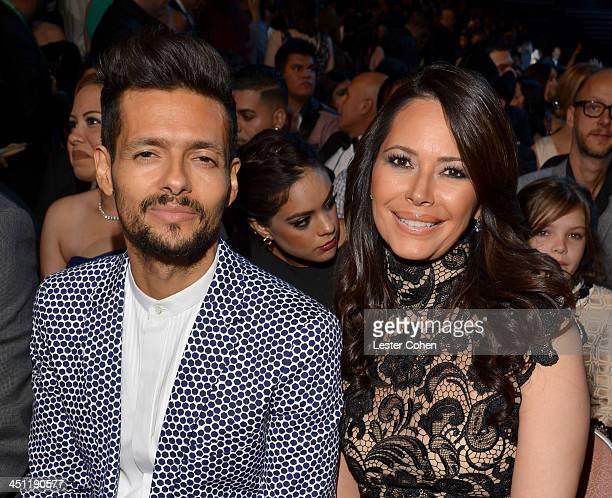 Musician Draco Rosa and Angela Alvarado attend The 14th Annual Latin GRAMMY Awards at the Mandalay Bay Events Center on November 21 2013 in Las Vegas...