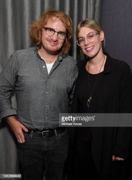 Musician Drew Brown and Eden Cohen attend the Operation Smile Screening Of ENOK Hosted By DJ Connor Bvrns on October 23 2018 in Los Angeles California