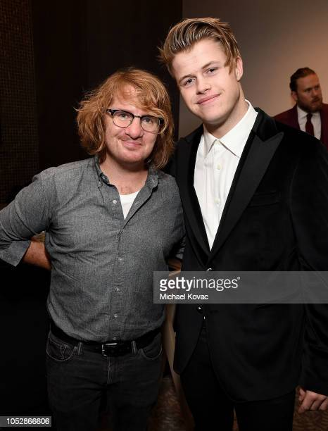 Musician Drew Brown and Producer/DJ Connor Bvrns attend the Operation Smile Screening Of ENOK Hosted By DJ Connor Bvrns on October 23 2018 in Los...