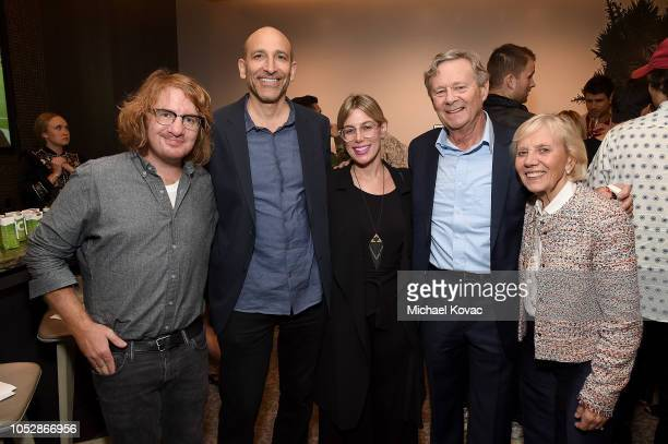 Musician Drew Brown Escape Artists' David Bloomfield Eden Cohen and Operation Smile cofounders Dr William Magee and Kathleen Magee attend the...