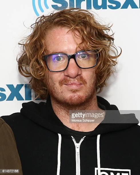Musician Drew Brown of band OneRepublic visits SiriusXM Studio on October 13 2016 in New York City